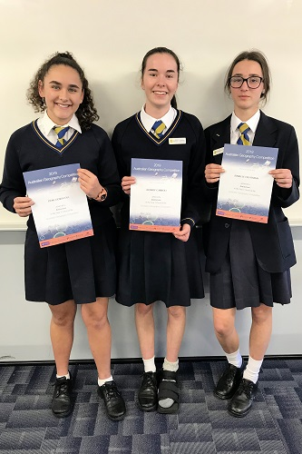 Wk 3 Australian Geography Competition Aug 2019 3 JPS