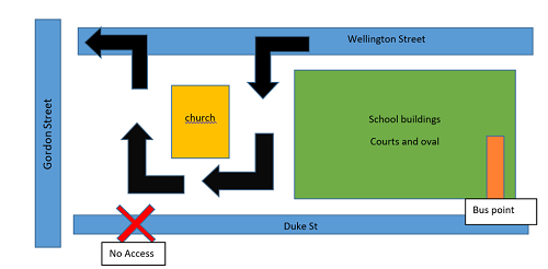 Wk 5 Map of Secondary Parking JPS