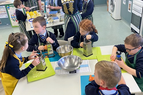 11 Yr 2G Cooking with Yr 12s 11 JPS