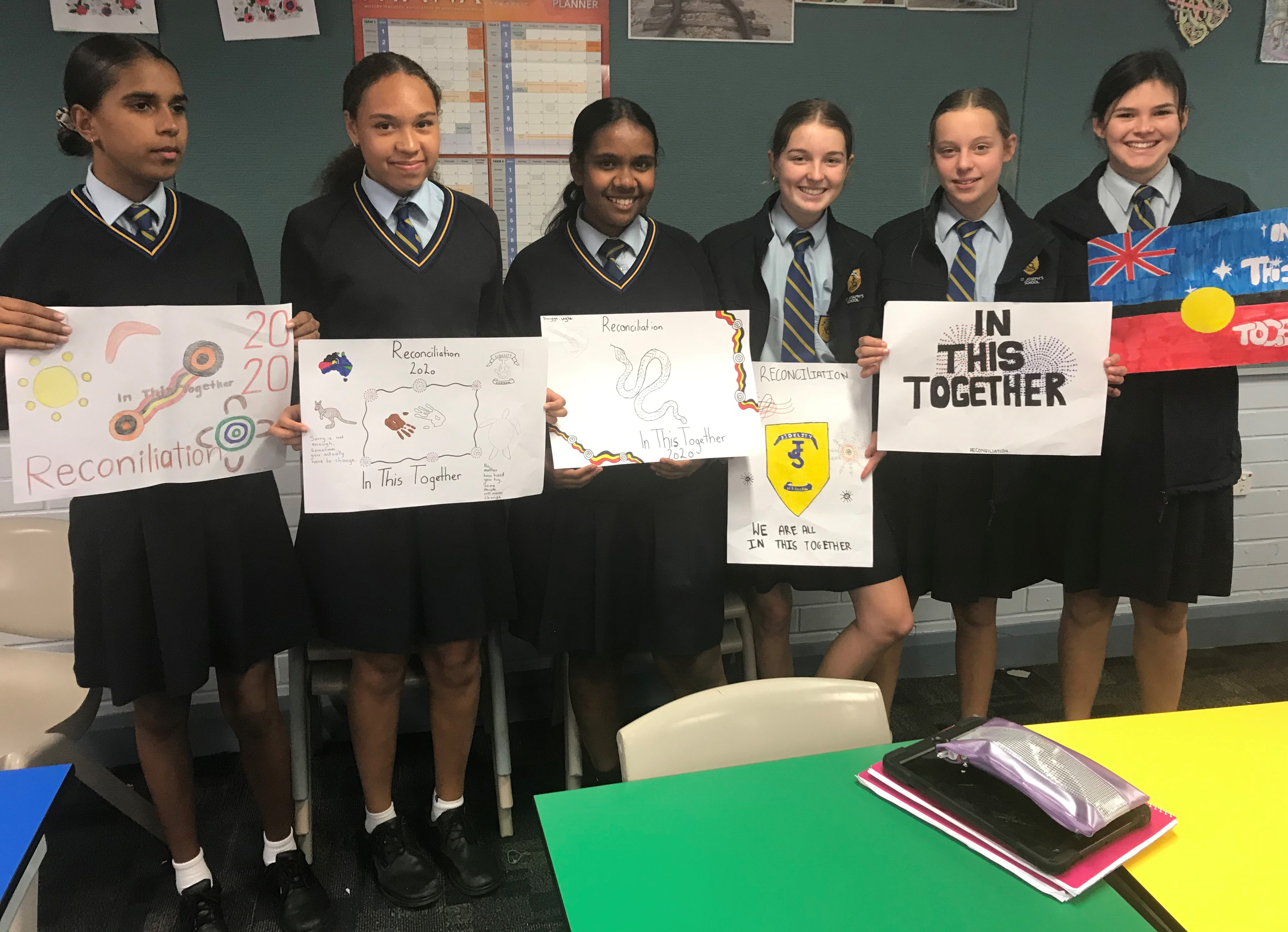 8 yr9 reconciliation posters
