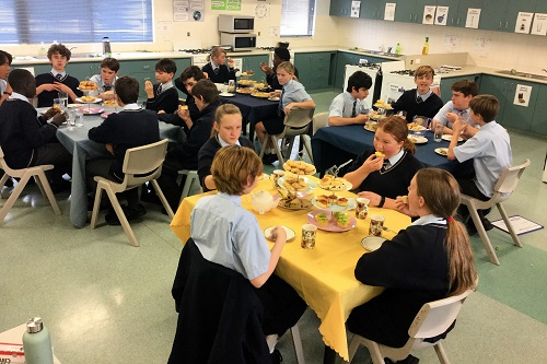 7 Yr 9 High Tea 8 JPS