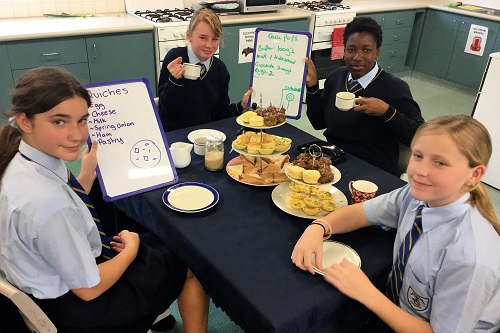 7 Yr 9 High Tea 9 JPS