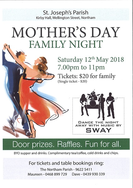 Wk 2 Parishs Mothers Day Family Night 2018 JPS