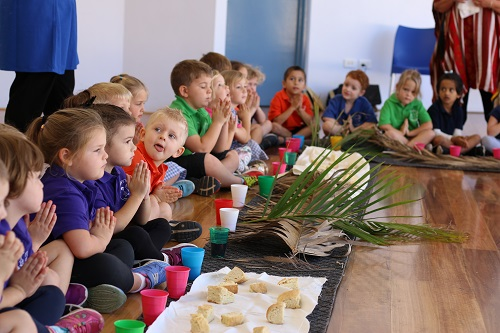 Wk 9 Kindy Last Supper 1 JPS